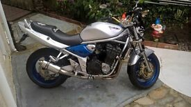 2002 Suzuki GSF 1200 Bandit Only 9200 Miles from new