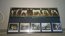 Royal Mail Mint Condition Presentation Pack Stamps Dog Paintings By Stubbs