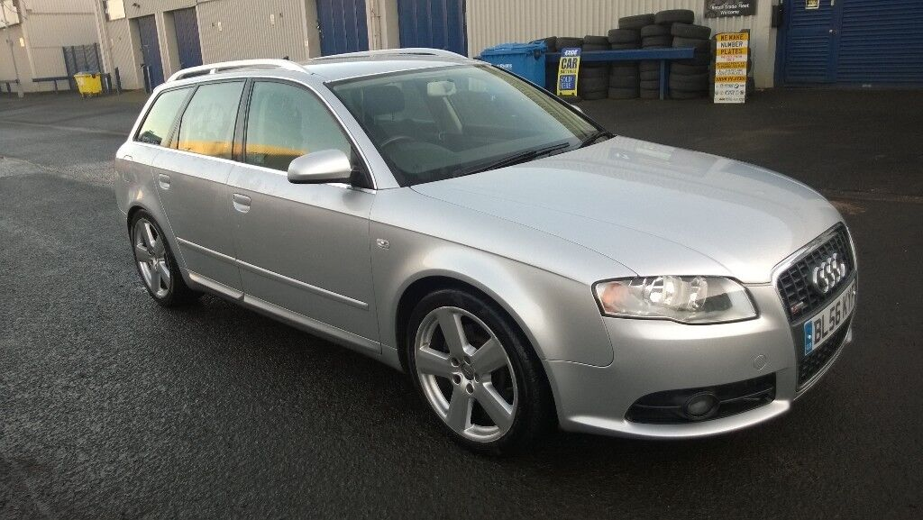 audi a4 avant 2 0 tdi s line 2007 diesel 5 door estate. Black Bedroom Furniture Sets. Home Design Ideas