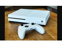 Xbox One S - White with Call of Duty Infinite Warfare