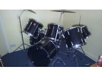 Vintage premier 7 piece drum kit (full kit)