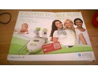 Calypso double electric breast pump