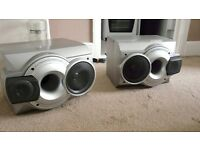 large speakers with subs and speaker wire