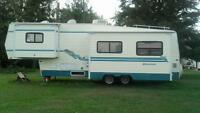 29 ft okanagan fifth wheel
