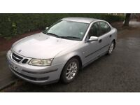 06 (56 reg.) Saab 93 Linear Sport diesel 1.9, 46K miles, MOT to 27.12.18, two previous keepers