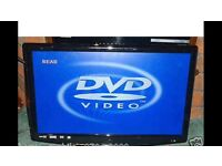 """Digitrex 22"""" TV with built in DVD & freeview"""