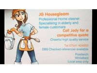JG HOUSE GLEAM , PROFESSIONAL HOME/OFFICE CLEANER PRESTWICH MANCHESTER