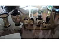 6 satsuma vases for sale
