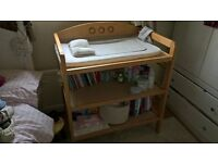 Large changer table - baby changing - near new condition