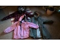 selection of girls Jackets