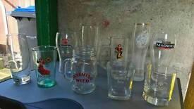 Job lot of glasses