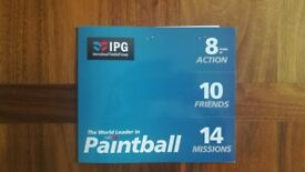 Paintballing Tickets X20