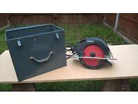"110 volt Skil Saw 9 1/4"" 1800 watt including carry case"