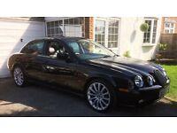 """Jaguar S Type 4.0 V8 19"""" Aston Martin wheels, sunroof, stereo, MOT April /18"""