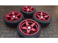 """18"""" Rondell 0021 Wheels ( BMW 5x120 21 Concave e36 e46 e60 e90 Alloys Rims BBS OZ Compomotive )"""