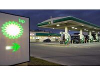 Cashier at BP PETROL STATION