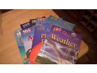 9 childrens information books - 100 facts on .....