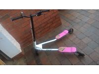 small flicker scooter, good condition,