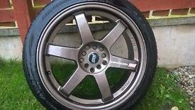 Subaru Impreza Sti Alloy Wheel & Tyre