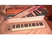 Roland PC-200 midi keyboard