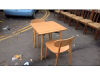 modus brand table and chairs