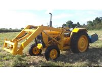 A Ford Perryshire front loader