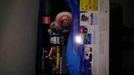 Brand New PS4 1T Slim Jet Black + controller