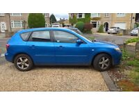 Mazda 3 2004 1.4 Petrol Blue Metallic