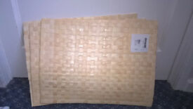 New Ikea bamboo effect place mats (x 4) - £4