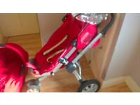 Quinny Buzz stroller with carrycot