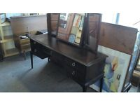 Lovely stag dressing table