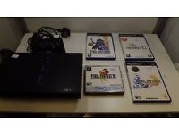 Playstation 2 Console Final Fantasy Bundle, 1 controller, mem card all wires 1 months warranty