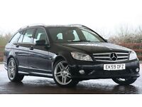 "C220 CDI Estate BlueEFFICIENCY Sport, VGC High Spec, FSH, 12m MOT, 2 owners, Leather seats, 18"" AMG"