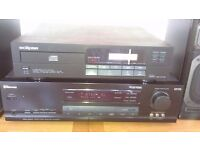 stereo system, Sherwood receiver (Dolby Surround), Eclipse CD, Sony speakers