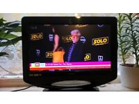 19 inch ; LED, Freeview flat screen TV with remote