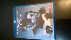 HEAT THE CLASSIC MICHAEL MANN FILM ON BLURAY IN LIKE NEW CONDITION