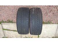 2 Autogrip tyres 225 45 17