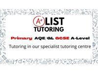AList tutoring centre (AQE/GL ,GCSE, Alevel )
