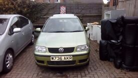 Vw low miles 1 years mot cheap