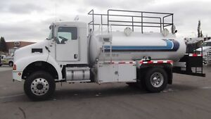 2008 Kenworth T300 4 X 4  Fuel Truck