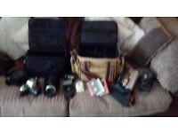 Camera Collection & bags