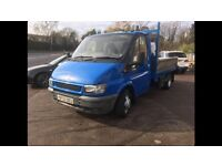 Ford transit plant / recovery truck