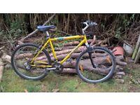 Retro Giant Mountain Bike 26in wheels 20in frame 21 gears Hardtail