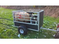 Quad Sheep Trailer