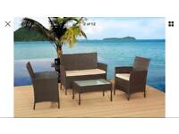 Brand New 4 piece Rattan Set(damaged)
