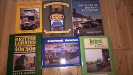 COLLECTION OF LORRY AND TRANSPORT BOOKS