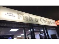 chip shop for sale in Royal leamington spa