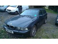 2001 BMW 530D Touring Auto, Grey leather interior, Recently serviced, 9 months MOT. Quick sale req'd
