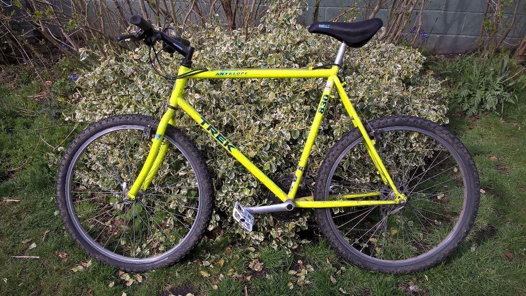Trek Antelope 830 Vintage Lime Green Mountain Bike 22 Frame Retro