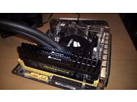 CPU, Motherboard and Memory bundle - I5 4670K, Asus Z87i-Pro and 16GB RAM and Water Cooler